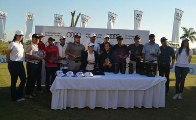 Santiago Ortiz y Sofía Chena ganan la Copa Audi de golf