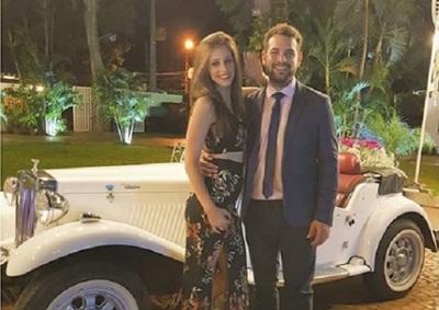 Oscar Pintos Y Su Esposa Cumplen 5 Años De Relación