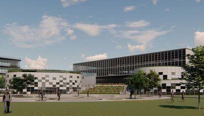 Universidad Tecnológica: Piedra simbólica en futura sede
