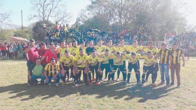 El Deportivo Guaraní es el flamante campeón de la Liga San Joaquín – Prensa 5