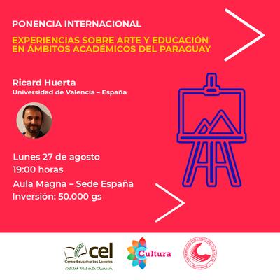Expertos españoles en educación y arte desarrollan proyecto en Paraguay