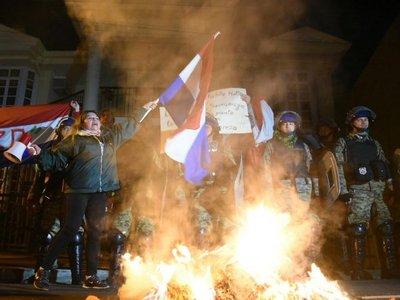 La barra Chancholigan's se suma a protestas contra González Daher
