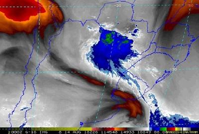 Meteorología advierte sobre tormentas en la jornada