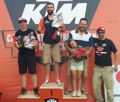 Circuito MX Samandu de Luque recibió la 3ra. fecha del Motocross