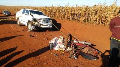 Hermanitas mueren en accidente de tránsito