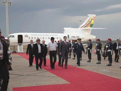 Tres presidentes ya están en Paraguay para asunción de Marito
