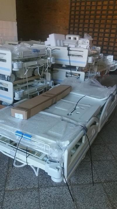 Entregan equipos de alta gama al Hospital Regional de Concepción