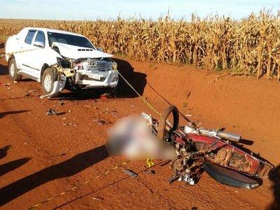 Dos niñas fallecieron tras accidente de tránsito en Alto Paraná