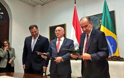 Paraguay y Brasil suscriben construcción de puente sobre el Río Apa