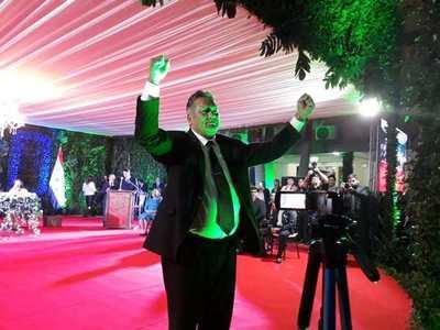 Alejo Rios asume como Gobernador de Caaguazú