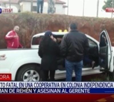 Delincuentes tenían como rehenes a familiares del gerente asesinado