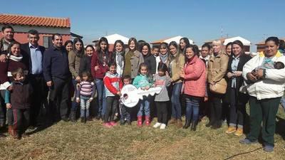 Soledad Núñez entregó llaves de viviendas a familias beneficiarias de Santa Rosa