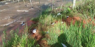 Trabajan contra arrojo de basuras en los arroyos