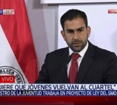 Ministro prepara nuevo plan para servicio militar de los jóvenes