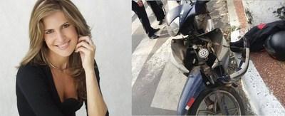 Jazmín Pazos atropelló a un motociclista y viajó a Europa?