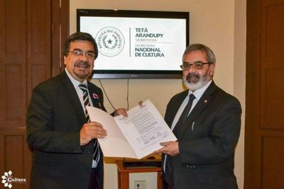 SNC declara de Interés Cultural bloque de Amancio Ruiz Díaz en Paraguay TV