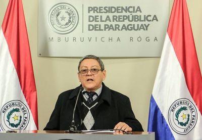 MINISTRO AFIRMA QUE EN LOS ÚLTIMOS AÑOS SE COMBATIÓ CON FUERZA A LAS ESTRUCTURAS DEL NARCOTRÁFICO