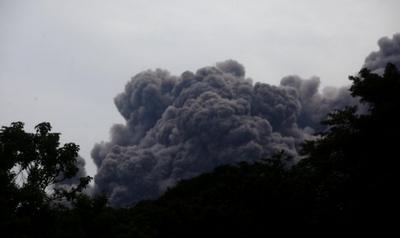 Guatemala: Volcán de Fuego erupciona nueve veces en una hora