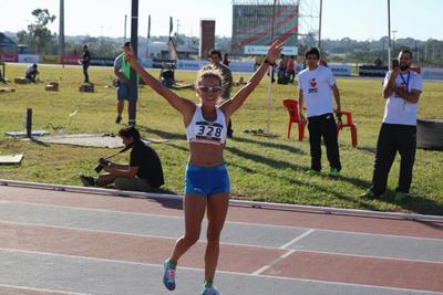 Oro para Paraguay: Carmen Martínez es campeona sudamericana