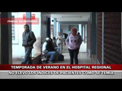 HOSPITAL REGIONAL NO COLAPSO COMO SE ESPERABA