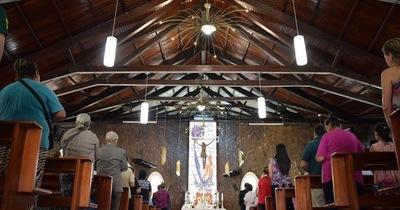 60 AÑOS DE CDE: Con el rezo del Ángelus se inició novenario