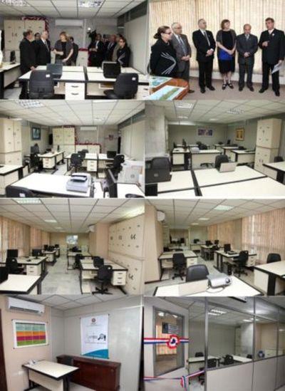 Dirección de Auditoría Interna habilitó nuevas oficinas