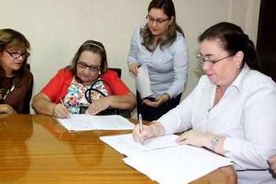 Firman acuerdo de cooperación interinstitucional