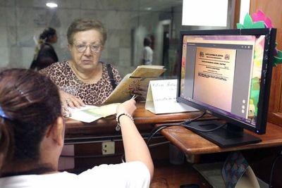 Informan sobre total de consultas de expedientes