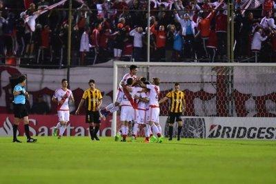 Mereció más: Guaraní jugó mejor pero cayó ante River