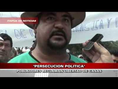 POBLADORES DE MA.AUXILIADORA RECLAMAN JUSTICIA PARA EL INTENDENTE