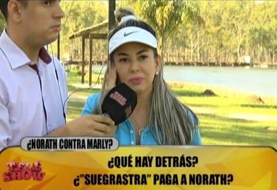 "Marly Figueredo a Norath: ""Se nota que tenes un trastorno"""