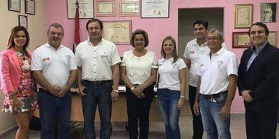 Inscriben candidatura de José Bogado a la gobernación de Guairá