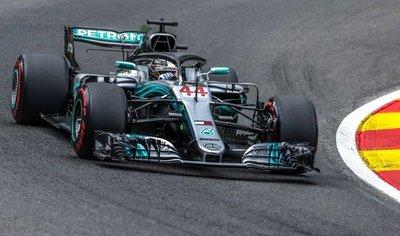 Hamilton se hace con la pole en Bélgica
