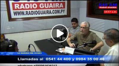 Sandra Quiñones fue puesta por un presidente con quien no va a trabajar dice Senador Ferreiro
