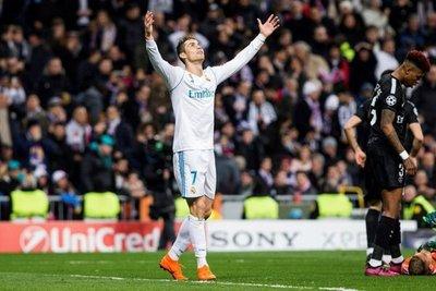 Con dos goles de Cristiano Ronaldo, el Real Madrid superó al PSG