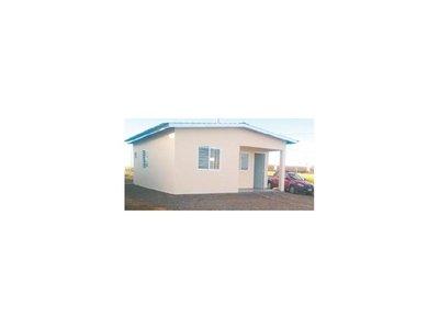 Construyen casas a precios de alquiler en Ñemby