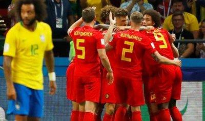 Bélgica elimina a Brasil y es semifinalista del Mundial de Rusia