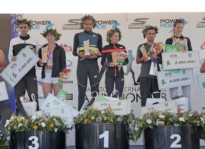 Derlis Ayala y Carmen Martínez ganan Maratón Internacional de Asunción