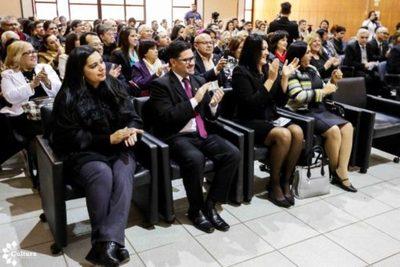 Promotores de la lengua guaraní fueron agasajados