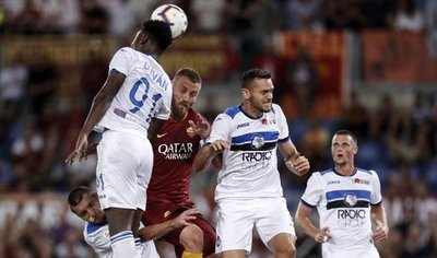 Roma y Atalanta empatan 3-3 en un partidazo