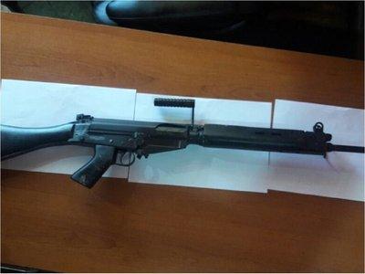 Fusiles robados tendrían un alto valor en el mercado negro