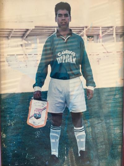 Carlos Reyes, enganche de pura técnica y goleador