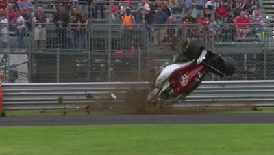 HOY / F1: brutal accidente en Monza