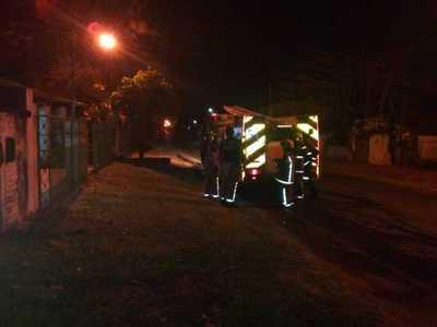 Rápida reacción de bomberos, evitó catástrofe