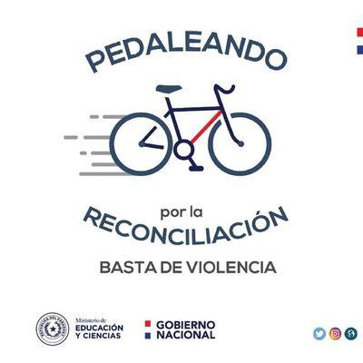 Ciclismo por la paz entre estudiantes del CRESR y del CNSL