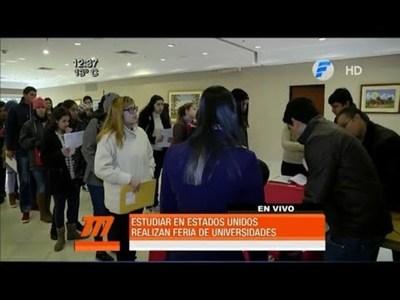 Feria para estudiar en EE.UU.