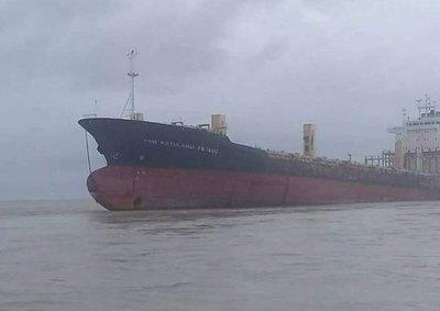Resuelto el misterio del 'Sam Ratulangi', el barco fantasma que ha encallado en Myanmar