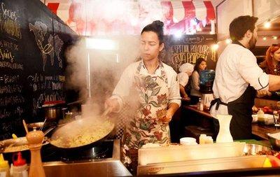 Buena concurrencia en feria Paladar alienta a industriales gastronómicos