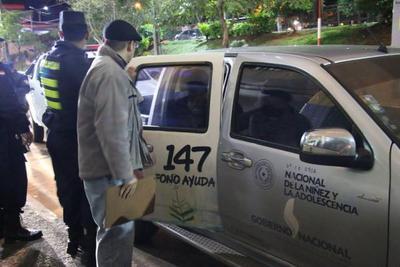 SNNA rescató de las calles y las bajas temperaturas a 37 infantoadolescentes