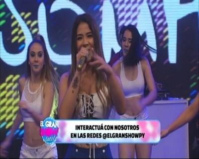 "El debut de Male González en ""El Gran Show de latele"""